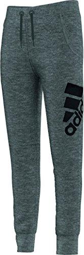 adidas YG W Knit Pant–Hose für Mädchen, YG W Knit Pant, grau, 128 (Pants Knit Print)
