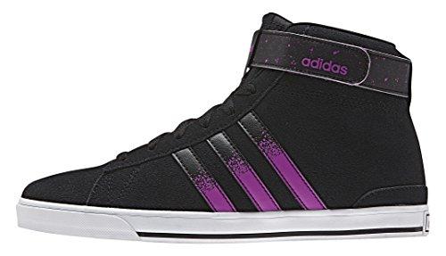adidas - Daily Twist Mid W, Scarpe sportive Donna Nero / Viola (Negbas / Rosdes / Ftwbla)