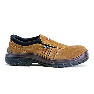 41GruOAwgjL. SS300  - Bellota  7227 S1P SRC Non Metal - Zapatos sin Cordones, Marrón, Talla 38
