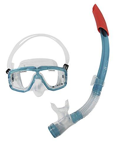 Aqua Lung Sport Damen Diva Flex LX Maske und Schnorchel Set, aqua, One Size