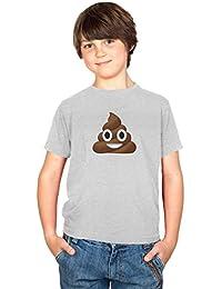 Texlab Poo Emoji - Kinder T-Shirt