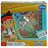 Disney Jake and Never Land Pirates Trouble Race-and-chase Pop-up Bubble Children's Board Game by Disney