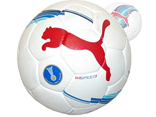 Puma Evospeed 2 Handball Training Ball weiß / blau / rot Puma-fußball-jugend