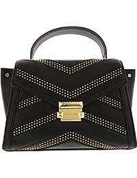 Michael Kors Women s Jasmine Leather Satchel Shoulder Bag ab4b4be385263