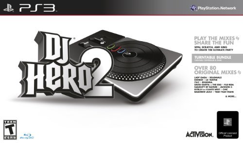 DJ Hero 2 Turntable Bundle - Playstation 3 by Activision