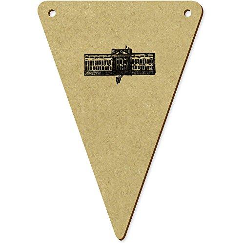 Azeeda 5 x 100mm 'Buckingham Palace' Wimpel / Banner aus Holz (BN00008038) -