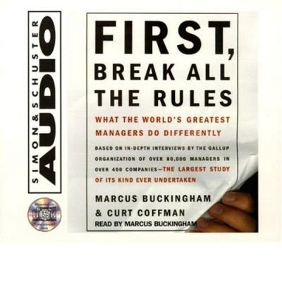 First, Break All the Rules (CD-Audio) - Common