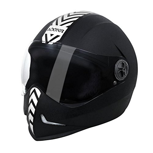 Steelbird Adonis Dashing Full Face Helmet(Silver)  available at amazon for Rs.915