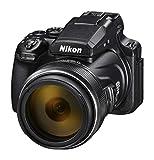 Nikon Coolpix P1000 Fotocamera Bridge, Zoom Ottico 125x, Video 4K/UHD, Bluetooth, Wi-Fi, Nero [Nital card: 4 anni di garanzia]