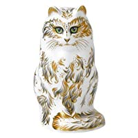 Royal Crown Derby Fifi Cat Paperweight