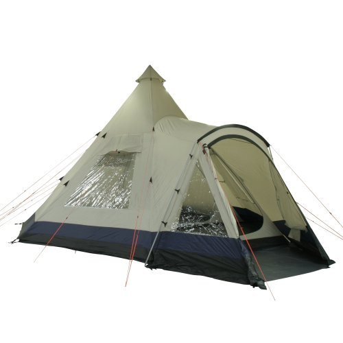 10T Apache 600+ u2013 12 person teepee tent sewn in ground sheet ...  sc 1 st  UK Sports Outdoors C&ing Hiking Jogging Gym fitness wear Yoga & 10T Apache 600+ - 12 person teepee tent sewn in ground sheet ...