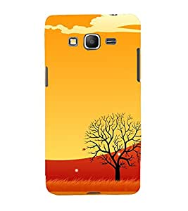 Animated Barren Tree 3D Hard Polycarbonate Designer Back Case Cover for Samsung Galaxy Grand Prime :: Samsung Galaxy Grand Prime Duos :: Samsung Galaxy Grand Prime G530F G530FZ G530Y G530H G530FZ/DS