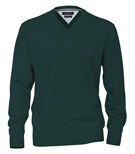 Casa Moda - Herren Pullover mit V-Ausschnitt in verschiedenen Farben (004130A), Größe:L, Farbe:Türkis (334)