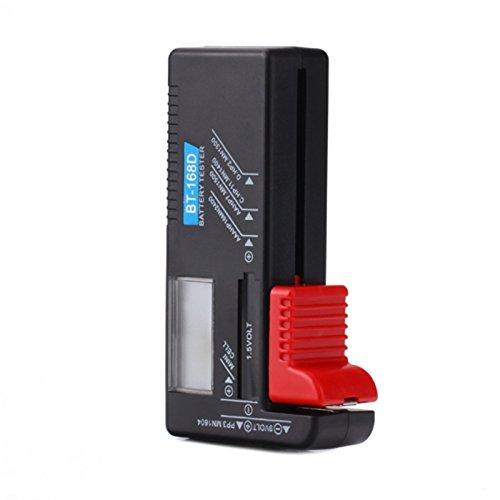 hapurs dk013-tester für Volt Batterie Ladegerät für AA, AAA, C, D, 9V 1,5V bt-168d Batterien Knopfzelle, hpdll10
