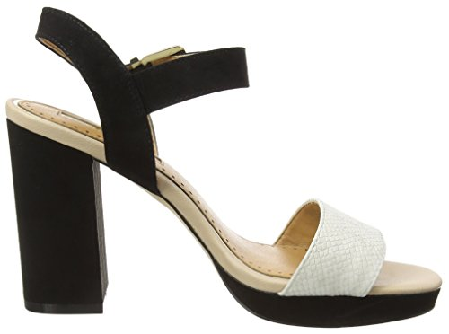 Miss Kg Damen Esther Sandalen Black (nero / Pettine)