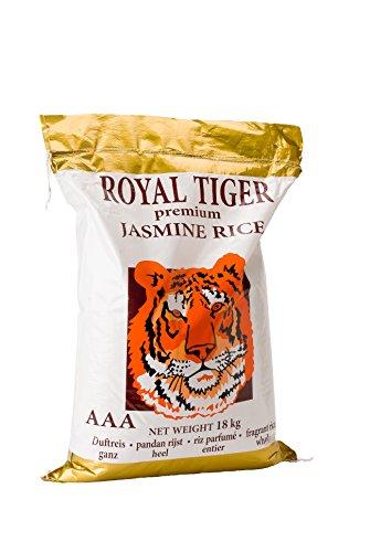 Preisvergleich Produktbild Royal Tiger Reis Jasmin,  1er Pack (1 x 18 kg)