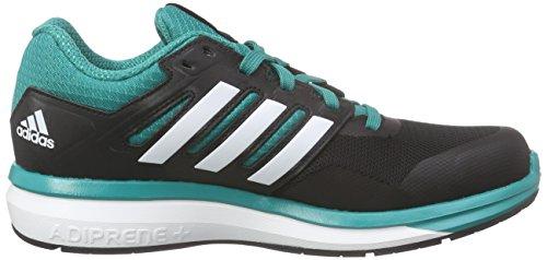 adidas Supernova Glide 8 K, Chaussures de Running Entrainement Mixte Bébé, Bunt, 38.5 EU Schwarz (Core Black/Ftwr White/Eqt Green S16)
