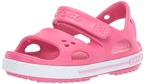 Crocs Kids' Crocband Ii Sandal Ps K, Pink (Paradise Pink/Carnation), 7 UK Child