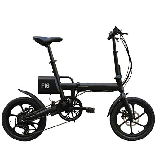41Gs1oVuGDL. SS500  - electric bicycle Folding electric car 16 inch variable speed folding lithium electric car adult folding