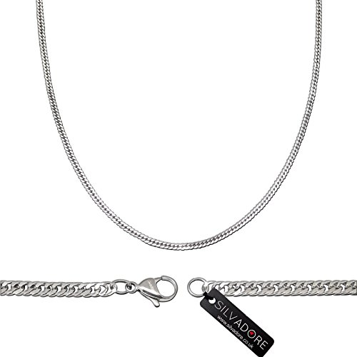 silvadore-4mm-fine-curb-necklace-chain-silver-stainless-steel-jewellery-14-to-36-lengths-for-men-wom