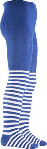 Playshoes Mädchen Strumpfhose Pirat, Oeko-Tex Standard 100, Blau (Blau 7), 98 (Herstellergröße: 98/104)