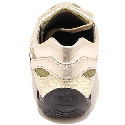 36745 sneaker HOGAN Oro scarpa bimba shoes kids Oro