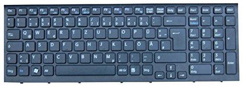 NExpert deutsche QWERTZ Tastatur für Sony Vaio PCG-71213M Serie Schwarz Neu