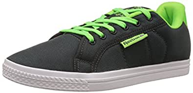 Reebok Classics Men's Reebok Court Sneakers, 11 UK/45.5 EU, Grey, Green and White