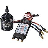 Hobbypower SunnySky X2212–91400KV motor sin escobillas y Simonk 30A ESC para Multicopter quad-x