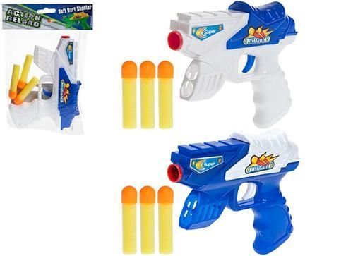1-x-16cm-soft-dart-shooter-gun-childrens-toy-1-colour-selected-at-random