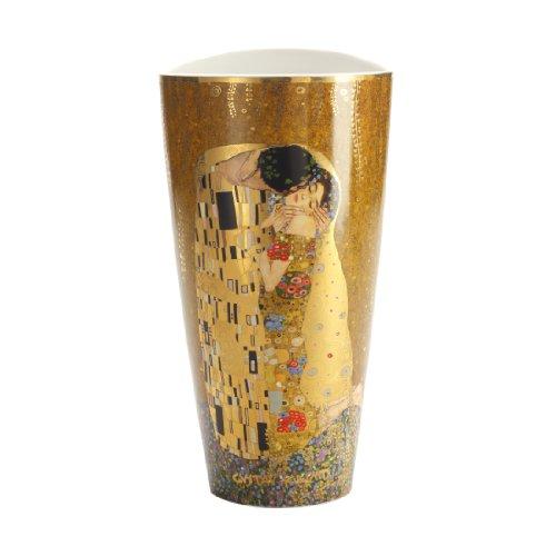 Goebel 66489204 Gustav Klimt Vase Der Kuss -