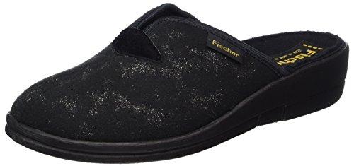 Fischer - Dora, Pantofole Donna nero (nero)