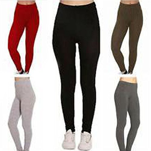 21FASHION New Ladies Women's Ribbed Chunky Knitted Jegging Trouser Leggings Size UK 8-22