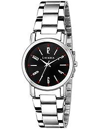 Laurels Lo-svt-0207w Analog Black Dial Women's Watch-Lo-Svt-0207W