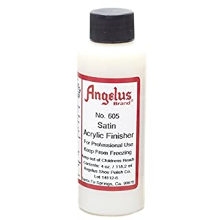 Angelus Brand Acrylic Finisher - Satin Gloss - 4oz