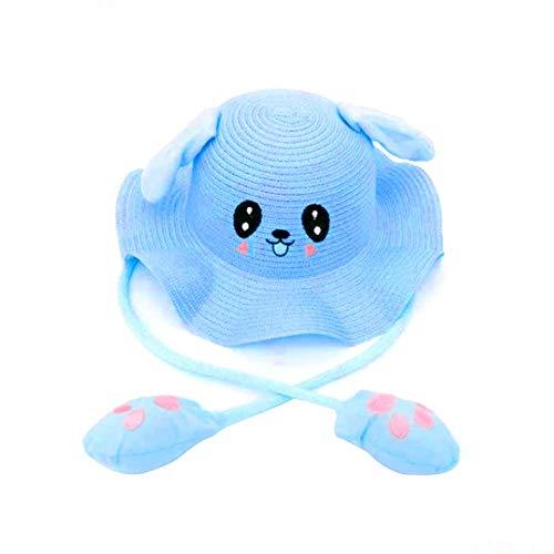 duhe189014 Bewegliche Hasenohren Hut Airbag Spielzeug süßes Kleid Kinder Tier Hut Visier Party Ostern Halloween Hut Erwachsenen Hut (Adult Halloween Hüte)