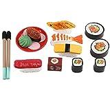 Fenteer Japanische Sushi Spielzeug Miniatur Kinderküche Spielzeug für Kinder ab 3 Jahre Alt