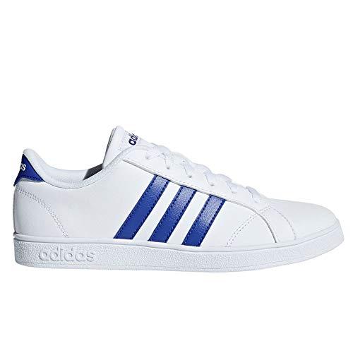 timeless design cd5b0 ecdc8 adidas Neo Baseline K Sneaker Bambini F36198 White (33 EU)