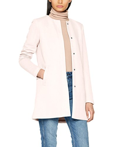 ONLY Damen Mantel Onlsidney Light Coat Otw Noos, Rosa (Rose Quartz), 42 (Herstellergröße: XL)