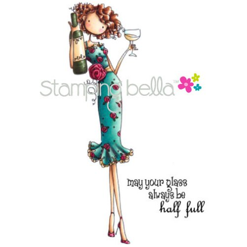 stamping-bella-cling-rubber-stamp-uptown-girl-opal-the-optimist