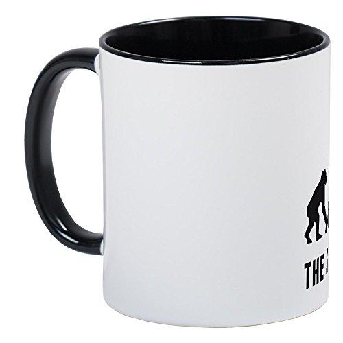 CafePress–Evolution Saxophon Player Tasse–Einzigartige Kaffee Tasse, Kaffeetasse, Tee, Tasse, White/Black Inside, S (New Orleans Kaffee-tasse)