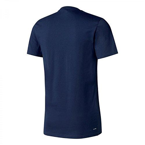 adidas Herren Tiro 17 T-Shirt Collegiate Navy/Energy S17/White