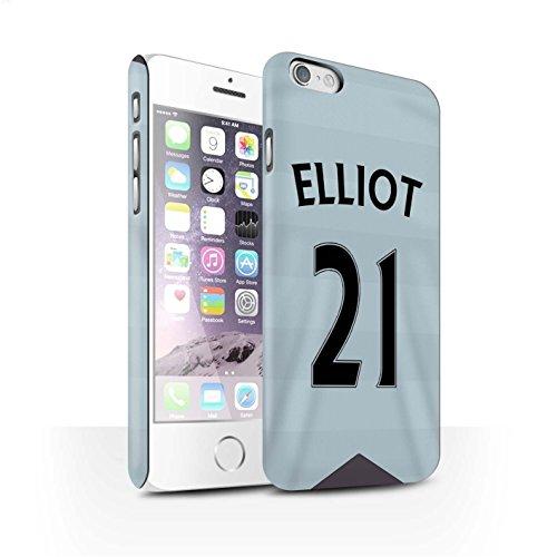 Offiziell Newcastle United FC Hülle / Matte Snap-On Case für Apple iPhone 6S / Pack 29pcs Muster / NUFC Trikot Away 15/16 Kollektion Elliot