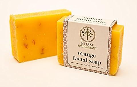 Belfast Soap Company (Orange Facial) 3 Bars of hand made soap