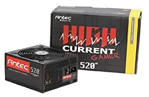 Antec 0-761345-06204-6 Alimentation PC avec ventilateur ATX 520 W