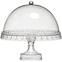 Premier Housewares 0805076 Porta Torta a Campana, 27 x 26 x 26 cm, (2 Torta Way)