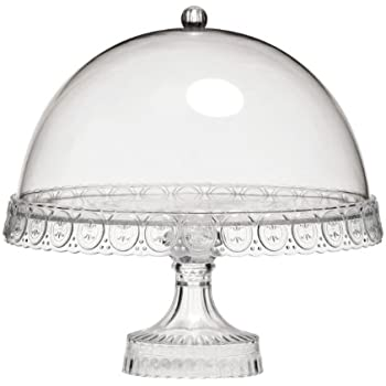 Premier Housewares Cake Stand With Dome Lid