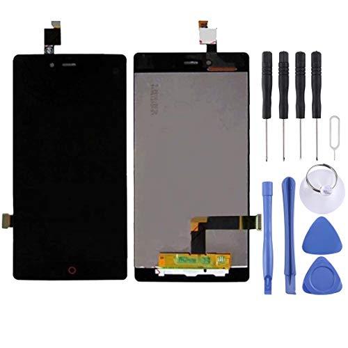 Fealliancement LCD Screen LCD Ersatz Touchscreen Ersatz LCD Reparatur gebrochen LCD Bildschirm und Digitizer Full Assembly for ZTE Nubia Z9 Mini / NX511J (schwarz) LCD Screen (Farbe : Black) Z9 Lcd