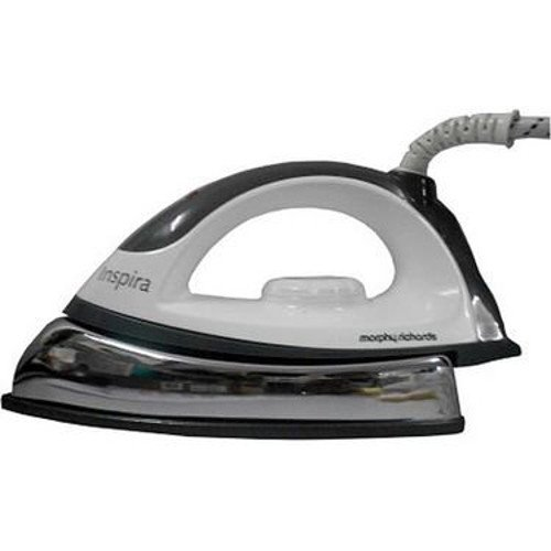 Morphy Richards Inspira 1000-Watt Dry Iron (White and Black)  available at amazon for Rs.485