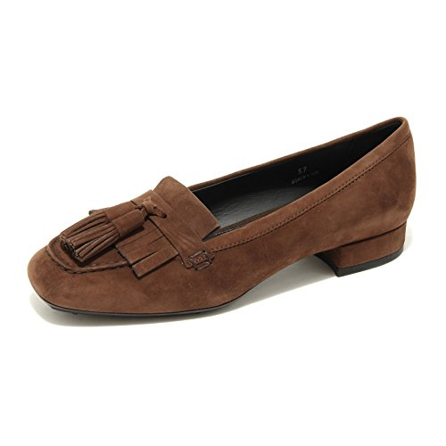 25612 mocassino ballerina TOD 'S NAPPINE scarpa donna shoes women [37.5]